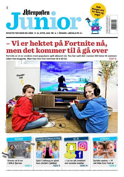 Aftenposten Junior  17 april (2018)