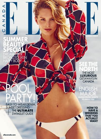 Elle Canada  July August (2017)