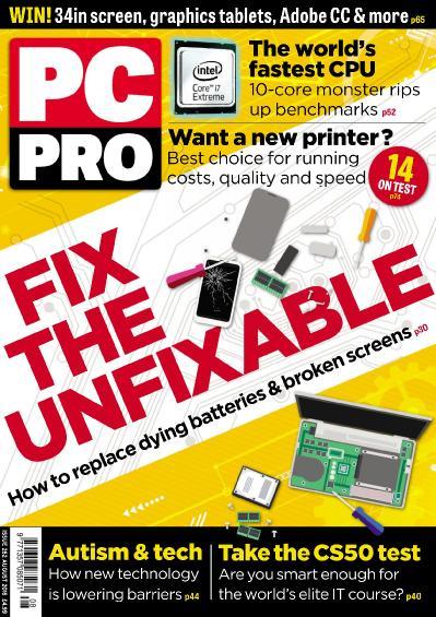 PC Pro   August (2016)