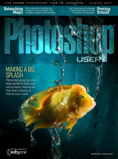 Photoshop User  August (2017)