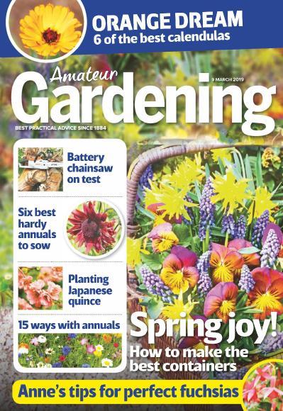 Amateur Gardening   09 March (2019)