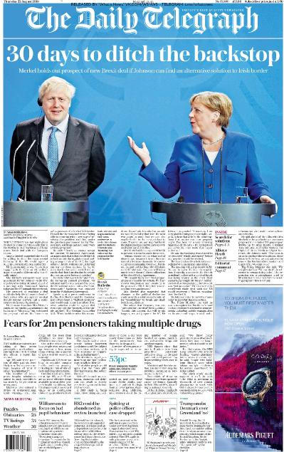 The Daily Telegraph - 22 08 (2019)