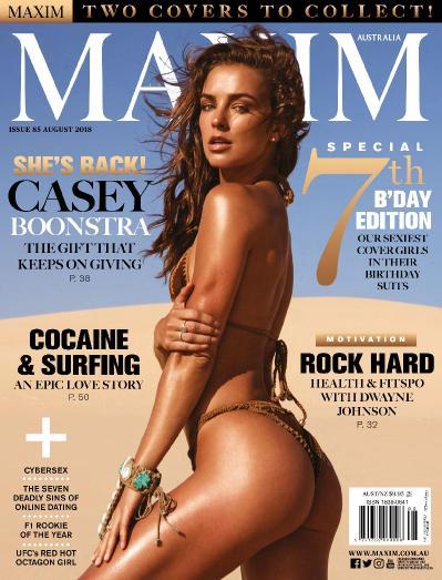 Maxim Australia - August (2018)