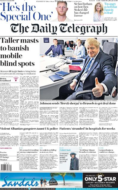 The Daily Telegraph - 27 08 (2019)