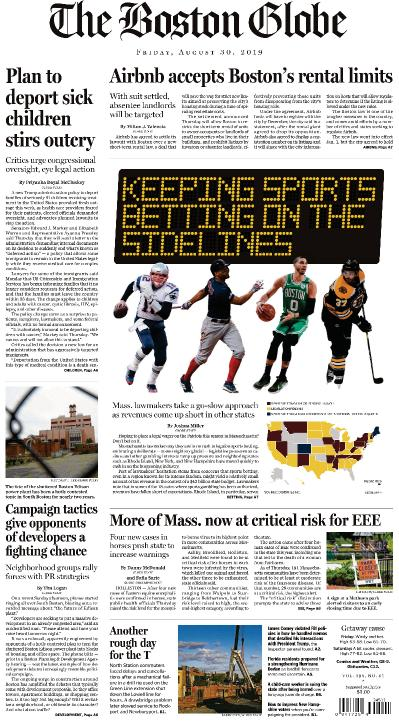 The Boston Globe - 30 08 (2019)