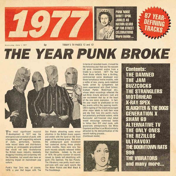 VA   1977   The Year Punk Broke (2019)