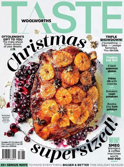 Woolworths Taste  December (2017)