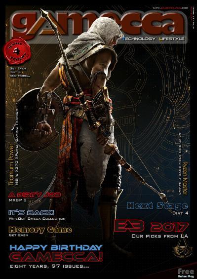 Gamecca Magazine  July (2017)