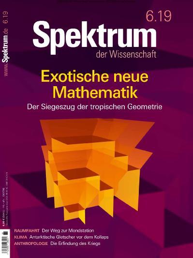 Spektrum der Wissenschaft - 06 (2019)