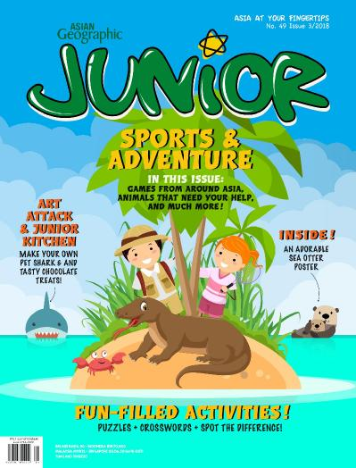 Asian Geographic Junior - August (2018)