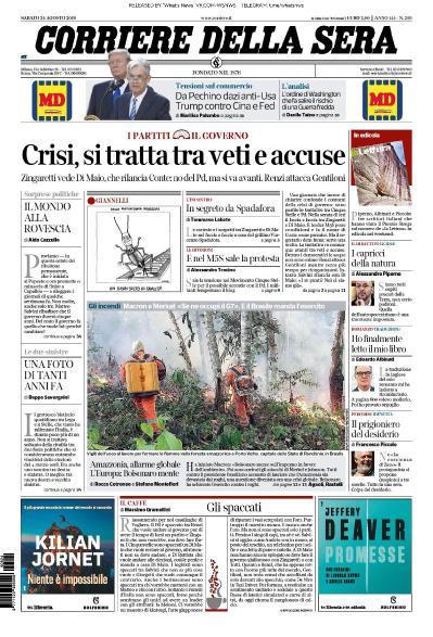 Corriere della Sera - 24 08 (2019)
