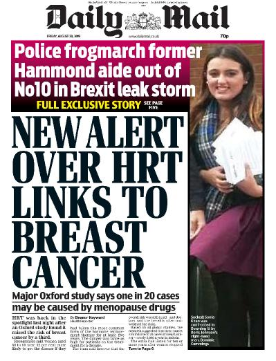 Daily Mail - 30 08 (2019)