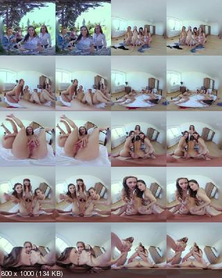 CzechVR: Alexis Crystal, Charlie Red, Jenifer Jane, Stacy Cruz (Easter Race (Czech VR 279) / 22.04.2019) [Oculus Rift, Vive | SideBySide] [2700p]