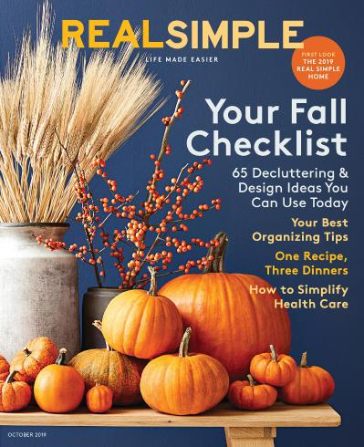Real Simple - October (2019)