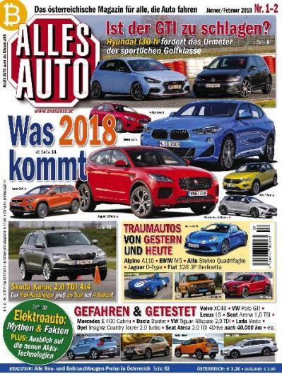 Alles Auto  Januar (2018)