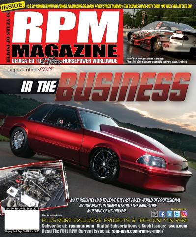 RPM Magazine - September (2019)