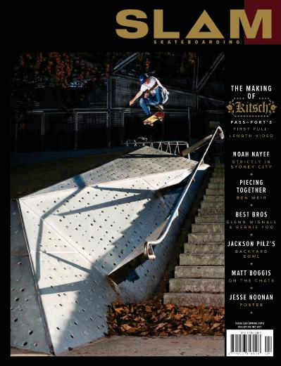 Slam Skateboarding - October (2019)