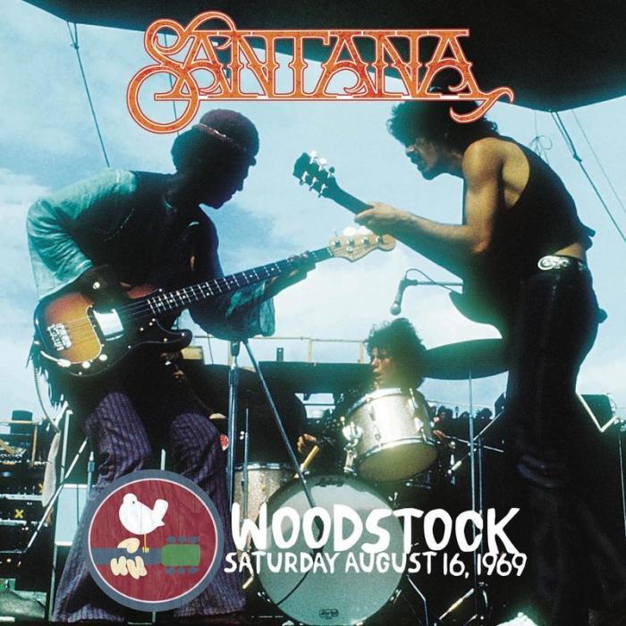 Santana   Woodstock Saturday August 16, 1969 (Live) (2019)