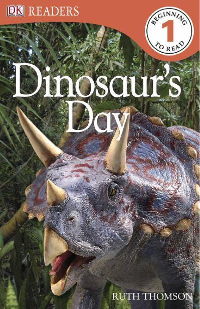 DK Readers L1 Dinosaur's Day
