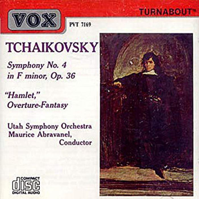 Tchaikovsky   Symphony No  4 in f minor, Op  36, Hamlet Overture Fantasy   Maurice...