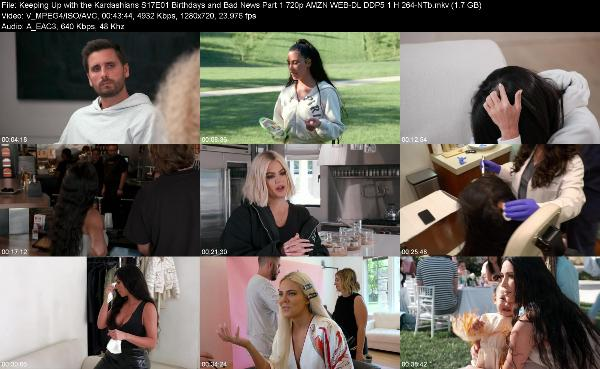 Keeping Up with the Kardashians S17E01 Birthdays and Bad News Part 1 720p AMZN WEB-DL DDP5 1 H 26...