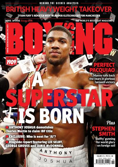 Boxing News UK - 14 April (2016)