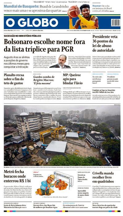 O Globo - 06 09 (2019)