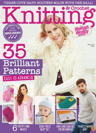 Knitting & & Crochet from Woman s Weekly  February (2018)
