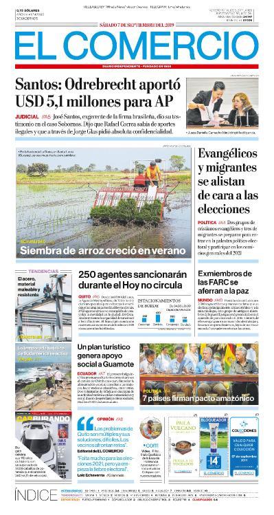 El Comercio - 07 09 (2019)