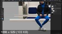 Создание композиции Киберпанк в photoshop (2019) HDRip