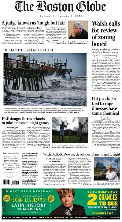 The Boston Globe - 06 09 (2019)