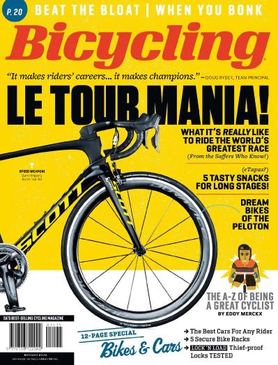Bicycling South Africa  July-August (2017)