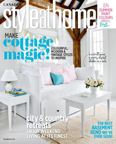 Style at Home Canada  August (2017)