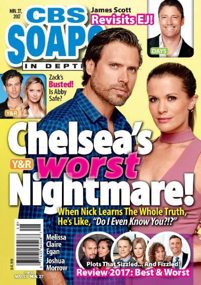 CBS Soaps In Depth  November 27 (2017)