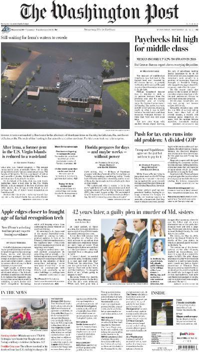 The Washington Post  September 13 (2017)