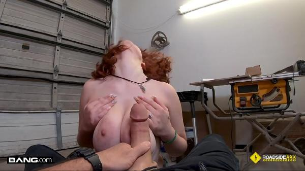 Annabel Redd – Gets Her Pussy Wrecked In The Mechanic's Garage (BangRoadsideXXX/2019/HD)