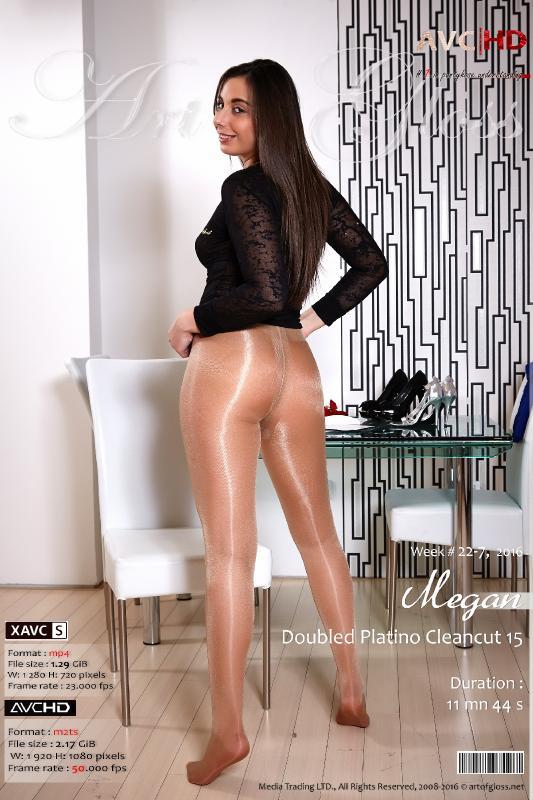 [ArtOfGloss.net] Art of Gloss #1 in pantyhose understanding. [ArtOfGloss.net 2016-05] 22-7-16, Megan & Doubled Platino Cleancut 15 [AVCHD] [2016, Gloss pantyhose, High heels, Legs, Shiny pantyhose, HDRip, 1080p]