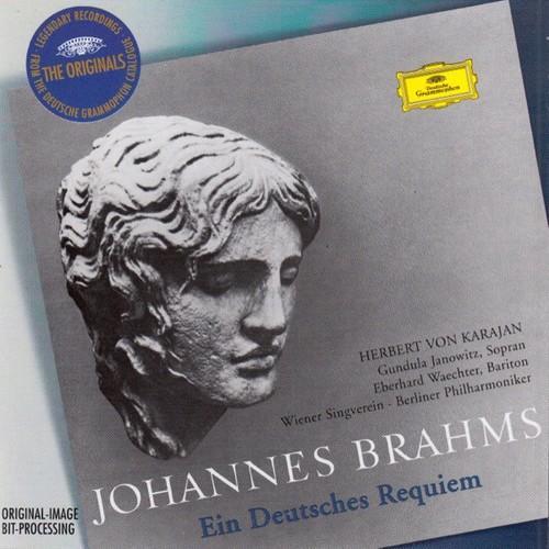 Brahms    Ein Deutsches Requiem   Berliner Philharmoniker, Herbert von Karajan   J...