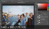 Кинематографичная обработка в Photoshop. Мастер-класс (2019)