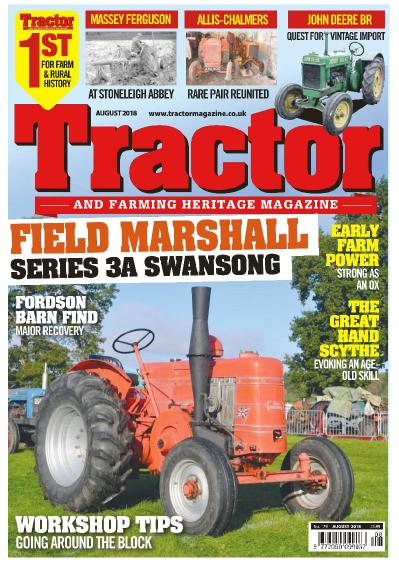 Tractor & & Farming Heritage Magazine  August (2018)