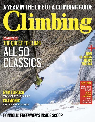 Climbing  Issue 155  August (2017)
