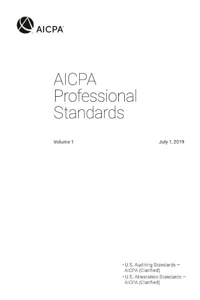 AICPA Professional Standards 2019, Volumes 1 and 2