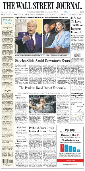The Wall Street Journal - 03 10 (2019)