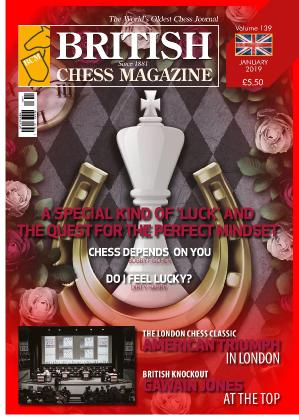 British Chess Magazine  January (2019)