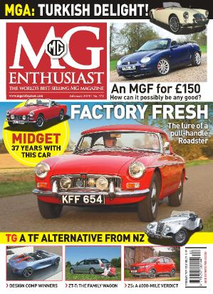 MG Enthusiast  March (2019)