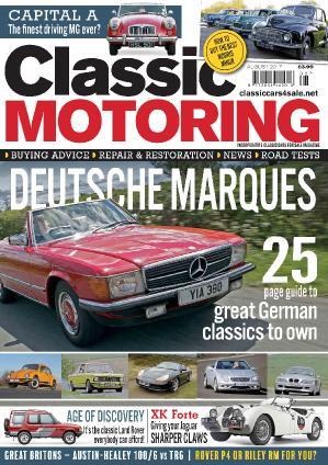 Classic Motoring  August (2017)