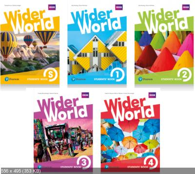 Longman Pearson - Wider World (Starter, 1-4)