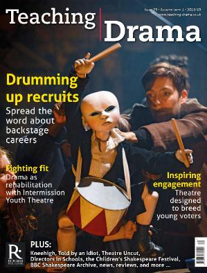 Teaching Drama  August (2018)